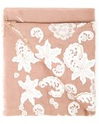 Janavi Cashmere And Lace Scarf - Lyst