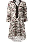 Thakoon Addition Floral Print Dress - Lyst