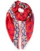 Vivienne Westwood Squiggle Scarf - Lyst
