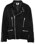 Ashish Sequined Cotton Biker Jacket - Lyst