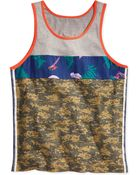 Sean John The Camo Fly Tank - Lyst
