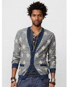 Denim & Supply Ralph Lauren Knit-Star Cotton Cardigan - Lyst