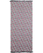 Tory Burch Pineapple Striped Scarf - Lyst