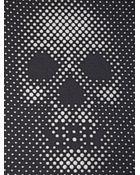 Alexander McQueen Skull Wool & Silk Scarf - Lyst