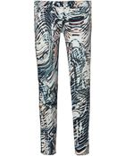IRO Aster Mid-Rise Printed Skinny Jeans - Lyst