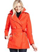 Helly Hansen Double-Breasted Trench Coat - Lyst