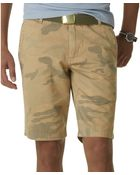 Dockers Alpha Camouflage Shorts - Lyst