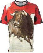 Dolce & Gabbana Bull Print T-Shirt - Lyst