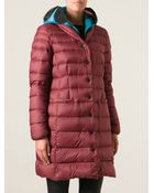 Riders On The Storm Padded Snap Coat - Lyst