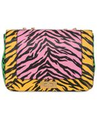 Moschino Cheap & Chic Animalier Printed Leather Shoulder Bag - Lyst