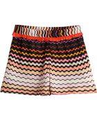 Missoni Mare Ruffled Printed Shorts - Lyst