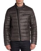 Kenneth Cole Quilted Down-Filled Jacket - Lyst