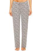 Ellen Tracy Floral Lounge Pants - Lyst