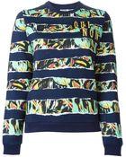 Kenzo Jungle-Print Cotton Sweatshirt - Lyst