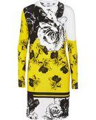 Prabal Gurung Floral-Print Modal-Blend Jersey Dress - Lyst