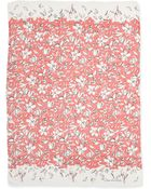 Oscar de la Renta Floral-Print Modal/Cashmere Scarf - Lyst
