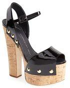 Giuseppe Zanotti 'Betty' Platform Sandal - Lyst