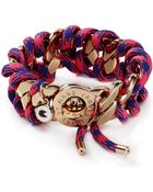 Marc By Marc Jacobs Corded Katie Bracelet - Lyst