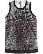 Helmut Lang Method Silk Tank - Lyst