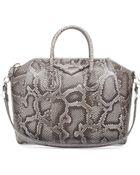 Givenchy Antigona Medium Python Satchel Bag - Lyst