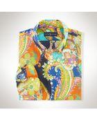 Polo Ralph Lauren Paisley Poplin Sport Shirt - Lyst
