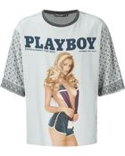 Dolce & Gabbana 'Playboy' Print T-Shirt - Lyst