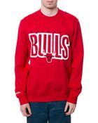 Mitchell & Ness The Chicago Bulls Team Shadow Tee - Lyst