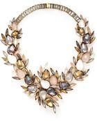 Erickson Beamon 'Sound Garden' Crystal Wreath Necklace - Lyst