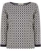 Oasis Grid Check Sweater - Lyst