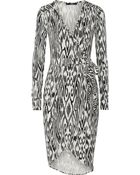 Tart Collections Seraphina Printed Stretch-Jersey Wrap Dress - Lyst