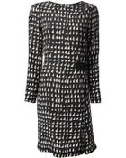 Cedric Charlier Printed Dress - Lyst