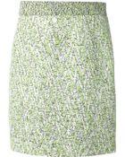 Proenza Schouler High Waisted Tweed Skirt - Lyst