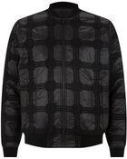 T By Alexander Wang Checked Bomber Jacket - Lyst