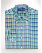 Ralph Lauren Plaid Sport Shirt - Lyst