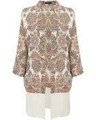 Oasis Pretty Thistle Tassle Kimono - Lyst
