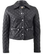 Michael Kors Quilted Leather Jacket - Lyst
