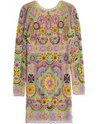 Emilio Pucci Embellished Dress - Lyst