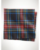 Polo Ralph Lauren Tartan Wool Pocket Square - Lyst