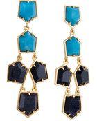 Lele Sadoughi Prism Chandelier Earrings, Starry Night - Lyst