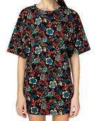 Pixie Market Folklore Floral Print Two Piece Dress Set - Lyst