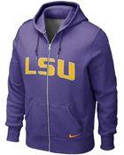 Nike Men'S Lsu Tigers Full-Zip Hoodie - Lyst