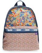 LeSportsac 'Liberty Combo - Basic' Coated Twill Backpack - Lyst