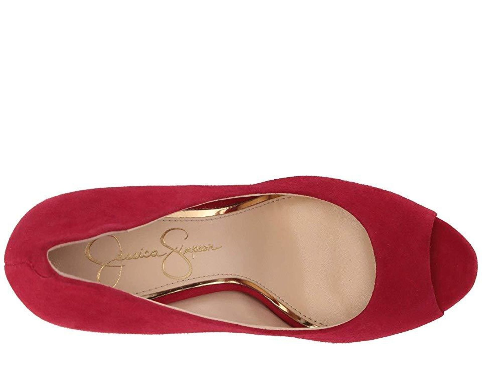 4119d5dcc3 Jessica Simpson Dalyn (maraschino Lux Kid Suede) High Heels in Red - Save  9% - Lyst