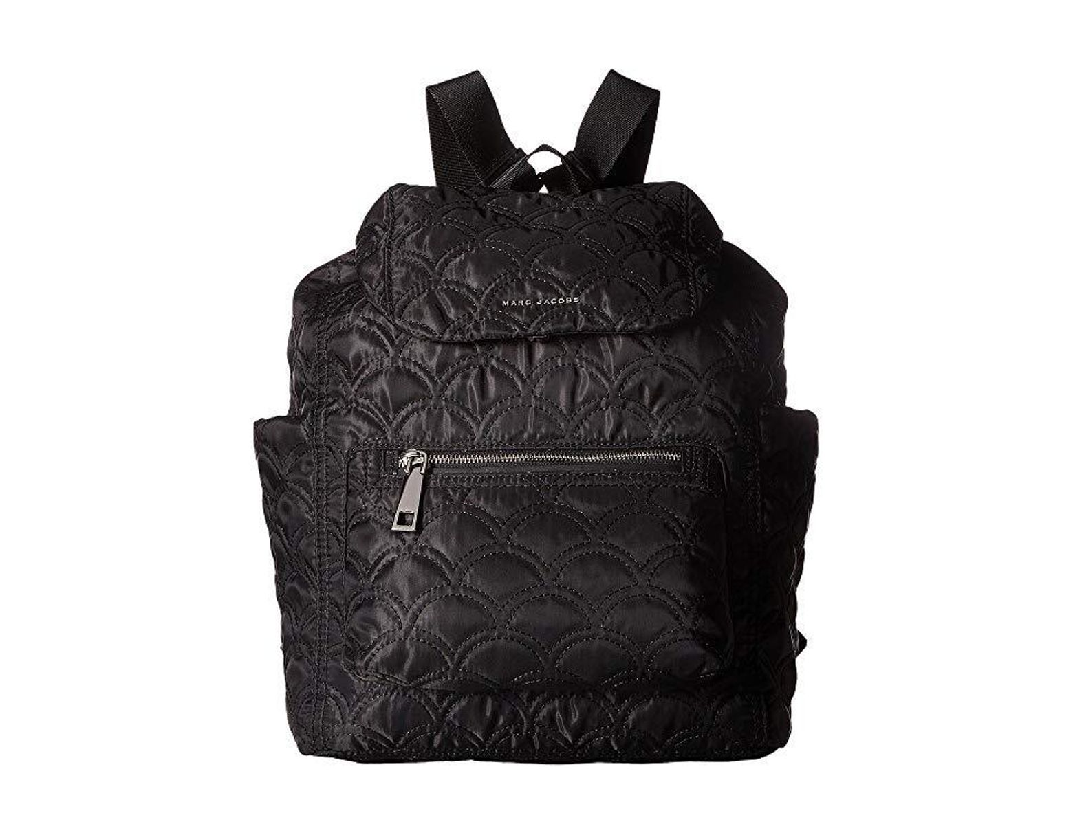 2a147f0cc Marc Jacobs Easy Matelasse Backpack (black) Backpack Bags in Black - Save  16% - Lyst