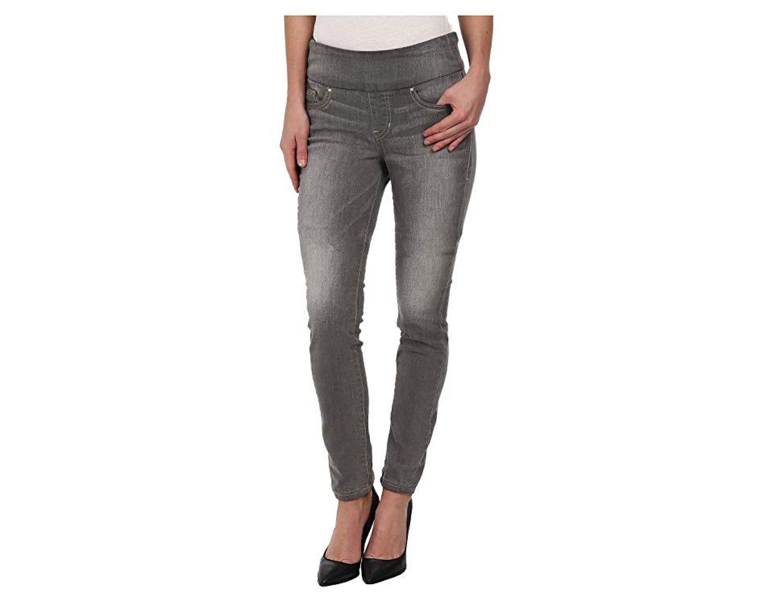 2dccd1bb Jag Jeans Nora Pull-on Skinny Knit Denim In Antique Tin (antique Tin) Jeans  in Gray - Save 26% - Lyst