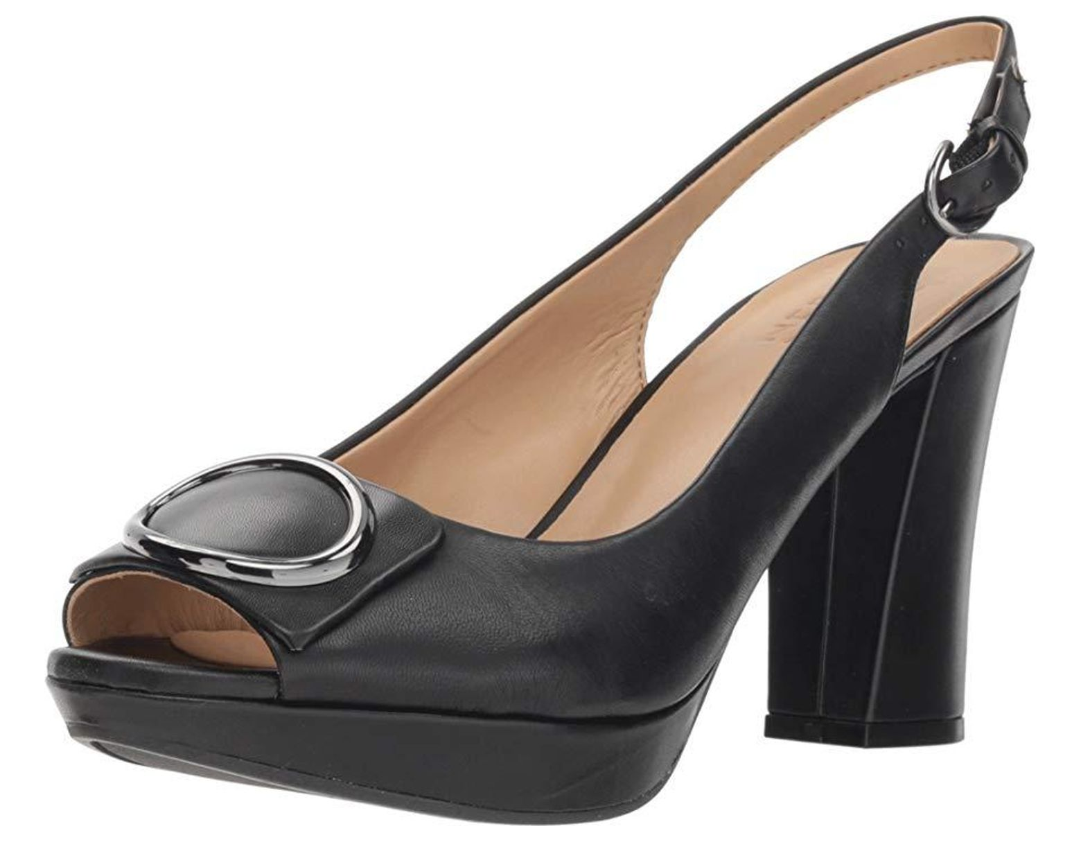 de7a30dd47d4 Naturalizer Abby (black Leather) High Heels in Black - Save 6% - Lyst