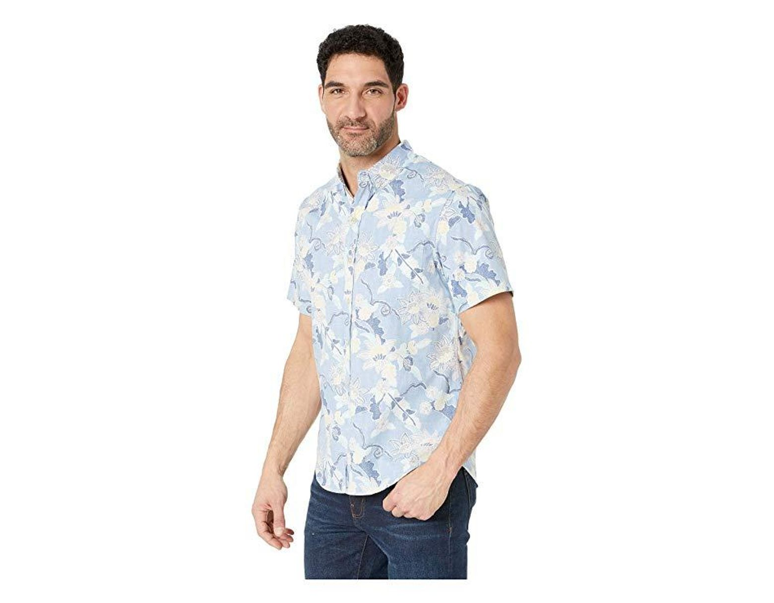 d1526556 Reyn Spooner Mahaloha Tailored Fit Hawaiian Shirt (allure) Short Sleeve  Button Up in Blue for Men - Save 50% - Lyst