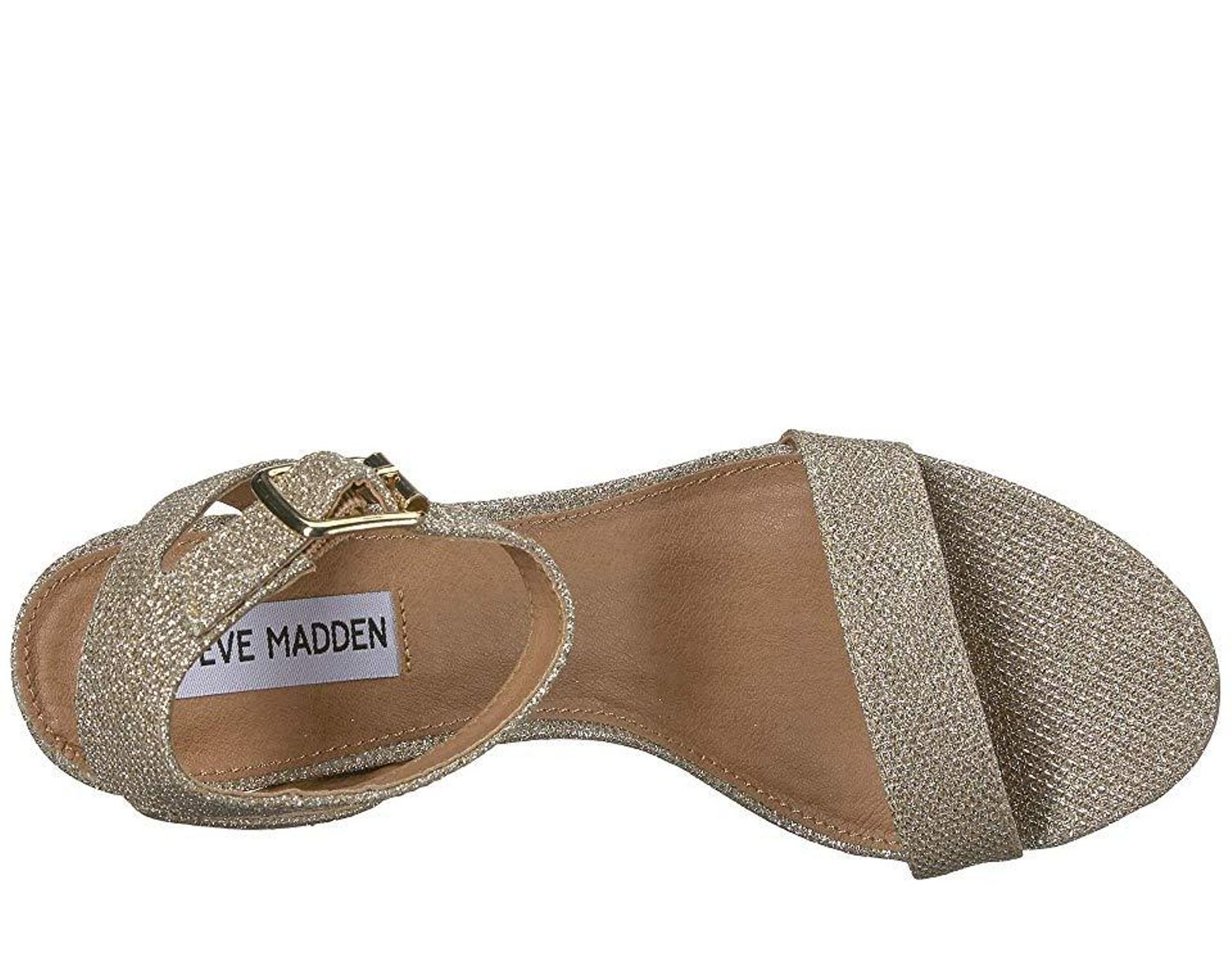 e11fd867e19f Steve Madden Malia (metallic) Shoes in Metallic - Lyst