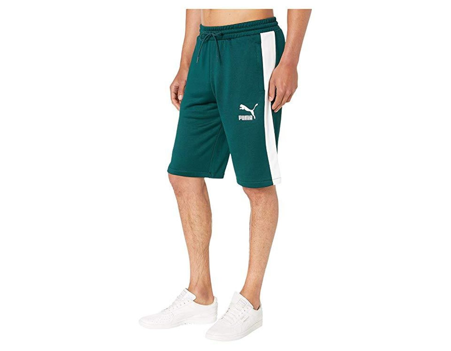 6dfb7335a1f3c PUMA T7 Freizeit Shorts (ponderosa Pine) Shorts in Blue for Men - Lyst