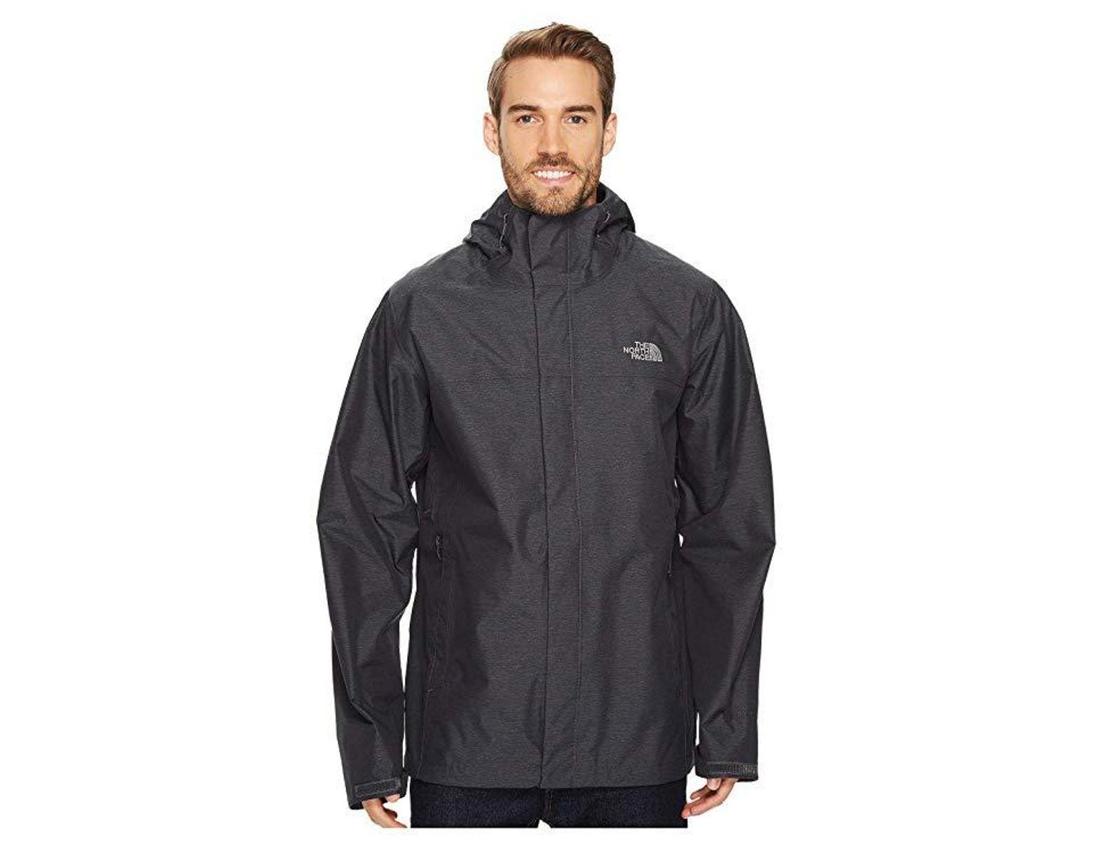 36ff0517d The North Face Venture 2 Jacket Tall (tnf Dark Grey Heather/tnf Dark ...